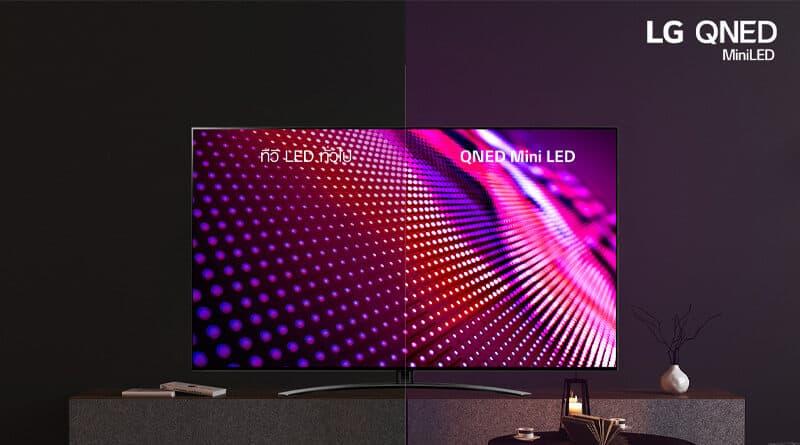 LG QNED mini-LED TV launching