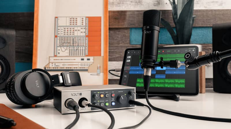 ProPlugin x Universal Audio launch Volt Home Studio system